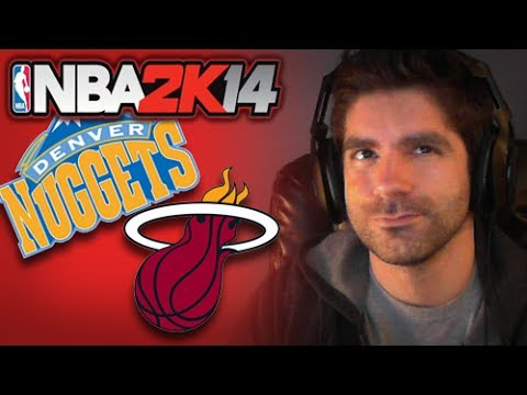 NBA 2K14 [Next Gen] Game 6 :: Heat vs Nuggets