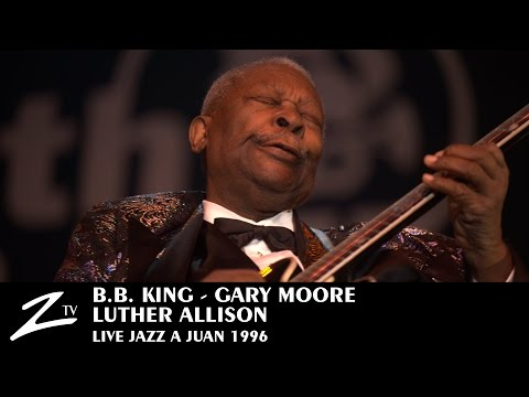 BB King, Gary Moore, Luther Allison - Jazzà Juan 1996 (Official)