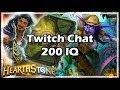 Twitch Chat 200 IQ - Boomsday / Hearthstone