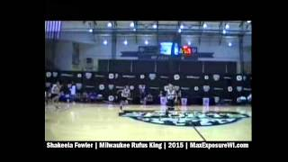 Shakeela Fowler OFFICIAL Freshman Season Highlights | Milwaukee Rufus King | Class of 2015 Guard
