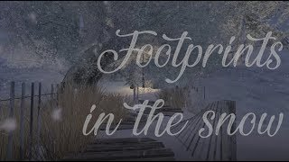 Footprints in the snow - Exploring Second Life Winter special