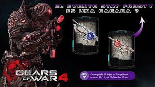 "Gears of War 4 l ¿El evento Stay Frosty es una Cagada? l Skins Latido ""Lancer y Hammerburst l 1080p"
