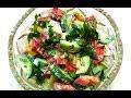 САЛАТ С БОЛГАРСКИМ ПЕРЦЕМ / Как приготовить салат со сладким перцем