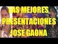 Jose Gaona - Las 10 Mejores Presentaciones En Los Cuatro Finalistas