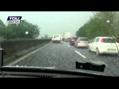 Raw: Tornado Cuts Path Across Italy