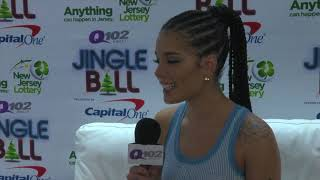 Download Lagu Halsey Talks G-Eazy, Her Love For Wawa & Her Dream Collab at Q102 Jingle Ball (Interview) Gratis STAFABAND