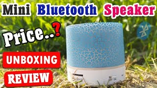 Cheap Price Mini Bluetooth speaker Unboxing & Review _ Clubefactory Product Unboxing 🔥
