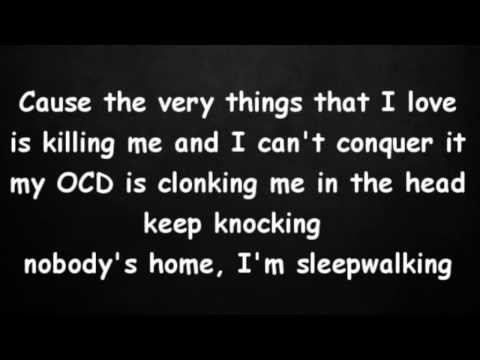 Eminem - The Monster (lyrics) Ft.  Rihanna video