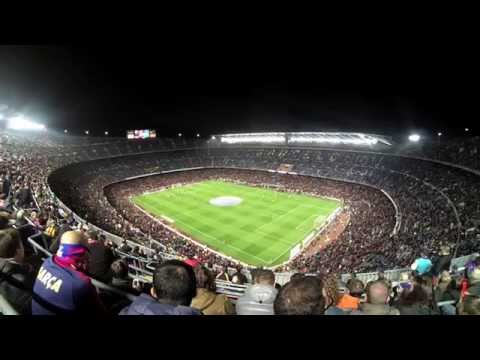 Derby en el Nou Camp 2015