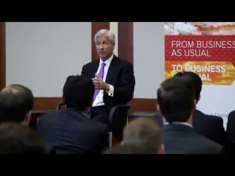 JPMorgan Chase CEO engages with Fisher students