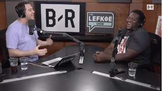 Spice Adams Imitates Ray Lewis 😂NFL QB Hunger Games | The Lefkoe Show