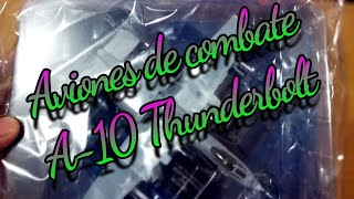#Unboxing A-10 Thunderbolt #AvionesdeCombate