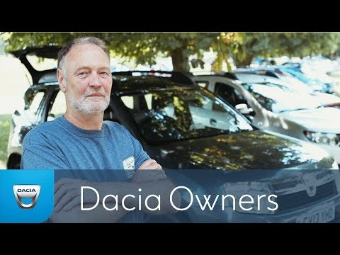Steve and his Dacia Duster - Dacia Day 2014 - Owner Profiles