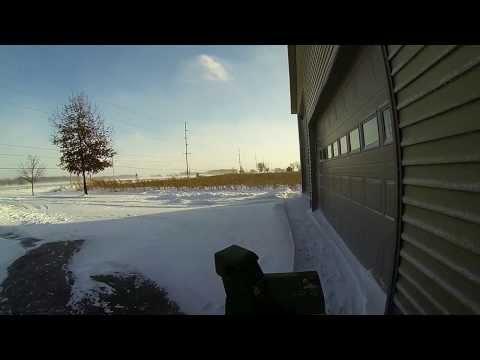 Ohio Winter Storm 2014 GoPro Snowblower