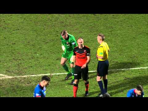 Young Polish 'keeper sees red as Tansey scores