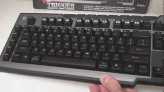 Cooler Master Storm Trigger Gaming Keyboard Video Review