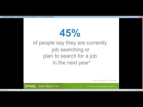 Client Training: New Job Search Experience