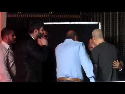 George Michael and Fadi Fawaz at White night club in Beirut. May 2012
