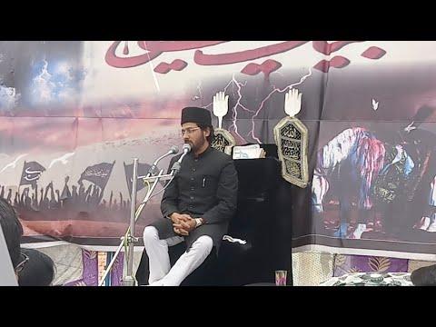 """Molana """"Wasi Asghar Pasha"""" Sahab 2nd Majlis 3rd Day Salana Majlis 2019 Chhjupura Sadat Bijnor UP"""