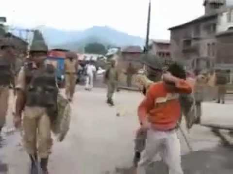 indian army attacked innocent kashmiris