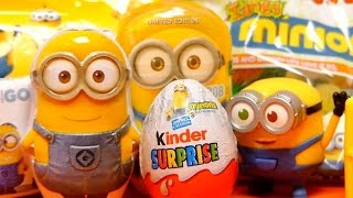 MEGA MINION Sweets & Toys Collection - Surprise Eggs