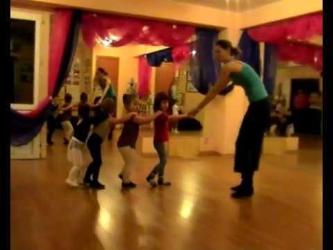 Детская гимнастика (танцы для детей), Пушкино, Айседора