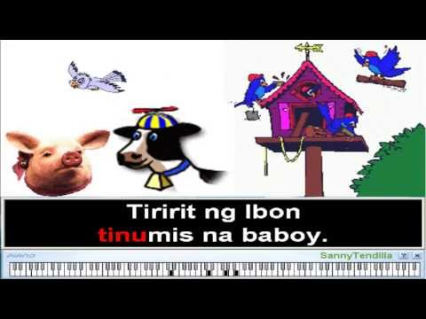Tiririt Ng Maya - Filipino Children Folk Song K-12 Mapeh Song (karaoke) video