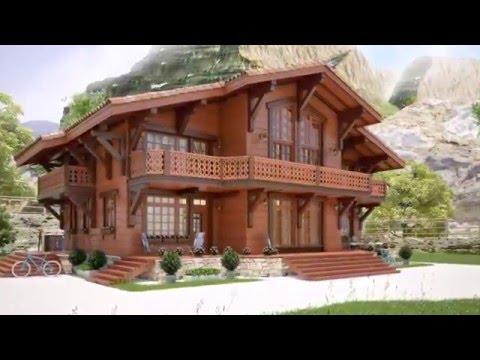 Богатые и Красивые Деревянные Дома