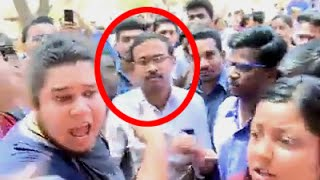 Who raised Anti-national Slogans? at Pune Fergusson College! Allegedly
