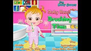 Baby Hazel Brushing Time. Funny Game For Kids