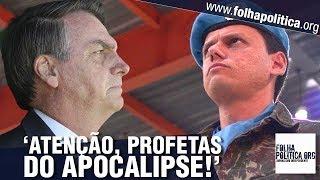 Ministro de Bolsonaro manda dura mensagem para 'profetas do apocalipse' e cala ataques a..