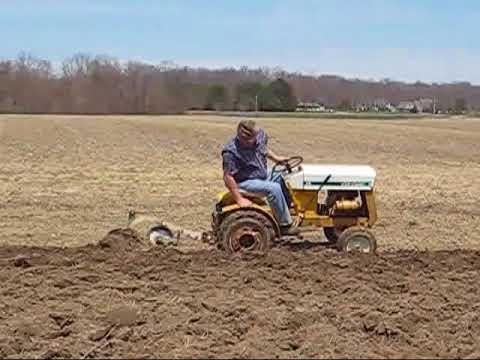 Plowing w/ Cub Cadet 73 & a 10