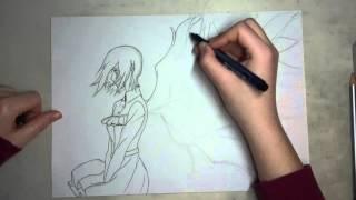 Speed Drawing | Tokyo Ghoul - Touka