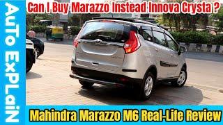 Mahindra Marazzo M6 8 Seater Real-life Review - Can I Buy Marazzo Instead Innova?