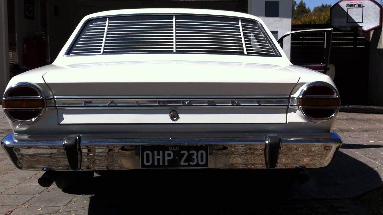 Watch on 1963 ford falcon sprint v8