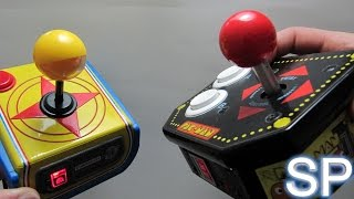 Pickup and Play SP - Namco Plug & Play Compared 2: Super Pac-Man vs Retro Arcade 12-in-1