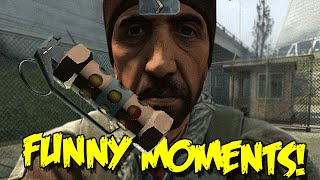CS:GO SILVER FUNNY MOMENTS - THE FLASH BANG KILL, CSGO PLAYER ON DRUGS