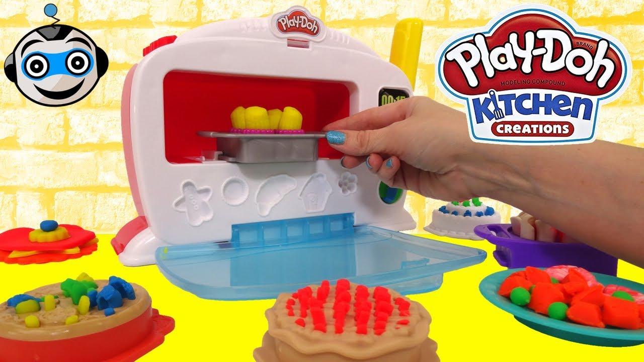 El horno m gico de play doh - Cocina play doh ...