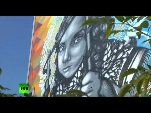 Gaza Graffiti: Palestinian artists reveal harsh reality of society