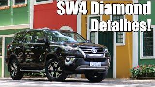 Toyota SW4 Diamond 2019 em Detalhes - Falando de Carro