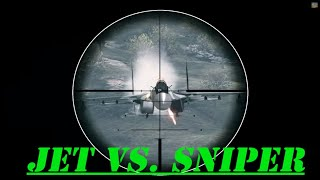 ★ EPIC Kill JET VS SNIPER ★ TOP 10 FINALIST ★ ONLY IN BATTLEFIELD 3 ★