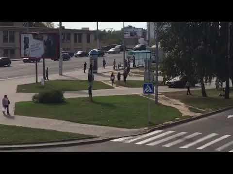 Минск: Погоня в центре города