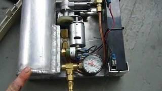 Mini taşınabilir 12V luk hava kompresörü yapımı
