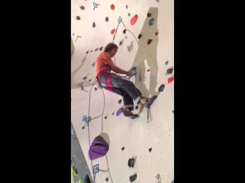 Chris Sharma Climbing 5.14 at Climb So iLL - 2/16/13