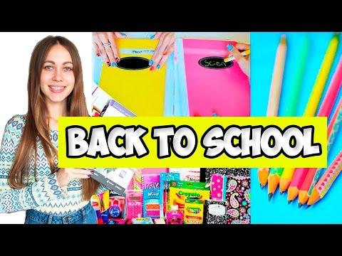 BACK TO SCHOOL | 10 ЛАЙФХАКОВ | КАНЦЕЛЯРИЯ | ШКОЛЬНЫЕ ПРИНАДЛЕЖНОСТИ | ПОКУПКИ К ШКОЛЕ | ПРАНКИ