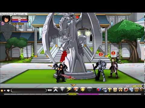 AQW - Getting Rank 10 Swordhaven + Royal BattleMage Class!