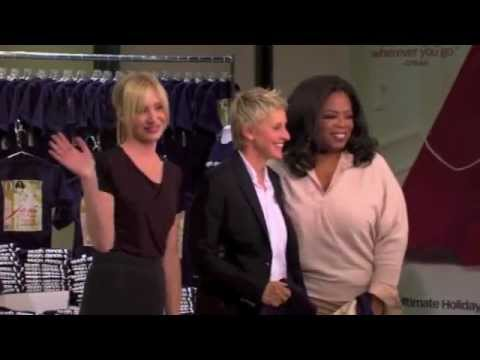 Ellen Degeneres and Portia De Rossi on Oprah - PART 5/5