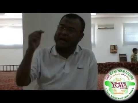 yakan nasihat:MANUSIYAH MAKAPAS SI ELLEW QIYAMA(MUHMIN)18,04,2014