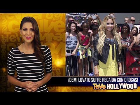 Demi Lovato Sufre Recaída Con Drogas!