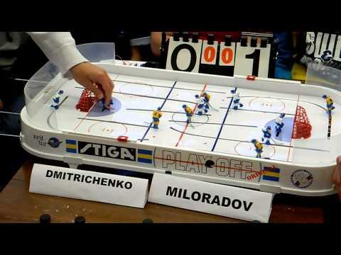 Table Hockey. Moscow Open 13. Dmitrichenko-Miloradov. Game 1